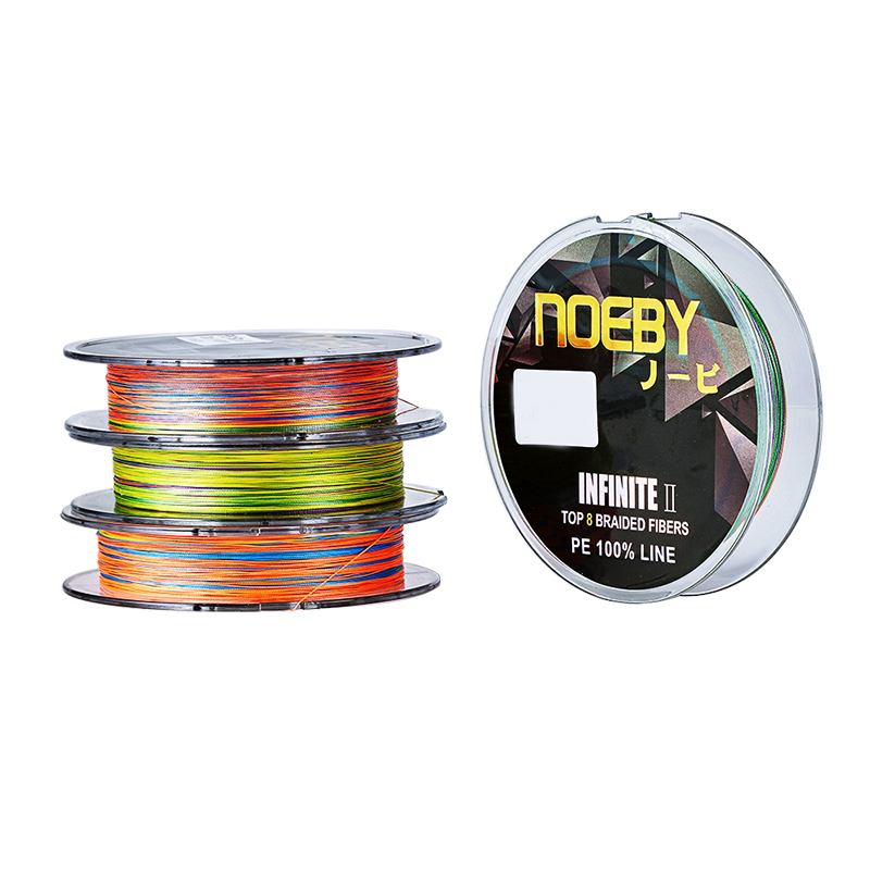 Шнур NOEBY INFINITE II PE 8 Braid 150m. (5 цветный)
